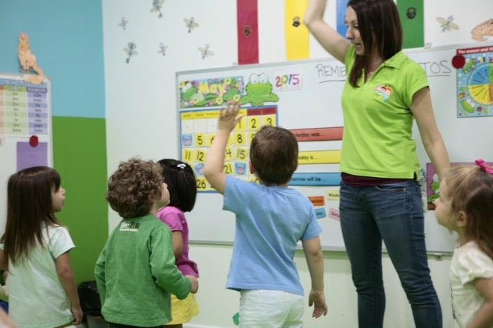 Clases de inglés para niños desde los 2 años
