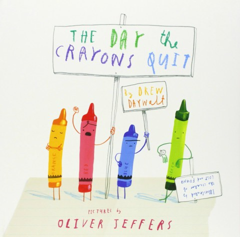 ingles divertido the day the crayons quit