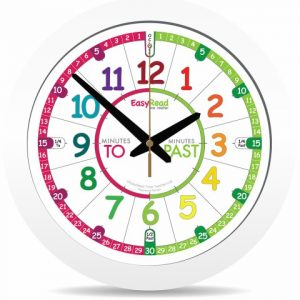 ingles divertido children s wall clock