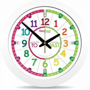 ingles divertido children s wall clock