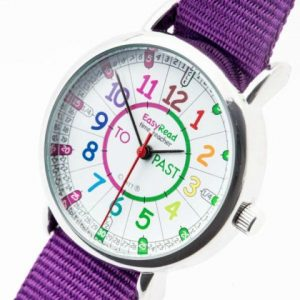 ingles divertido easyread time teacher morado