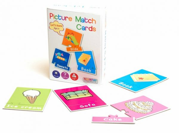 ingles divertido picture match cards