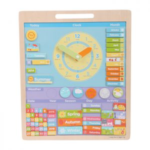 ingles divertido magnetic weather board
