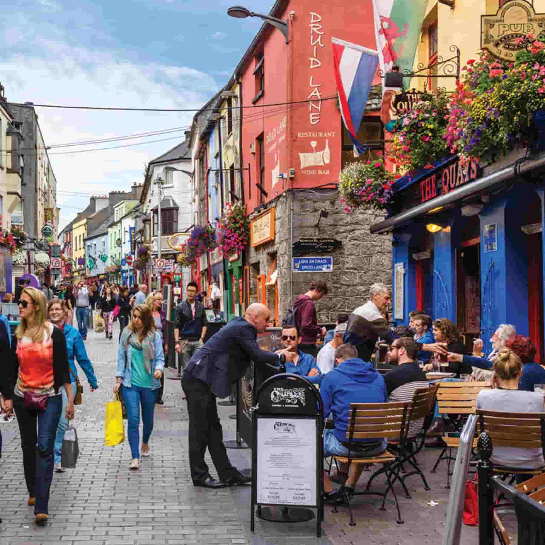 Viaje para aprender inglés a Galway (Irlanda)