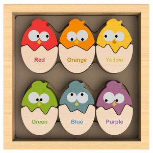 color'n eggs inglés divertido