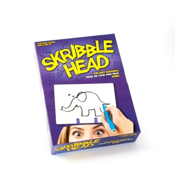 Skribble Head Juego De Mesa Ingles Divertido Libreria