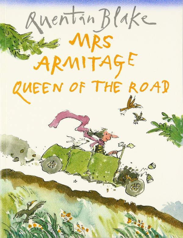 mrs armitage queen of the road inglés divertido
