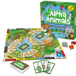 alpha animals inglés divertido