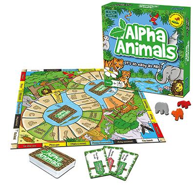 alpha animals inglés divertido
