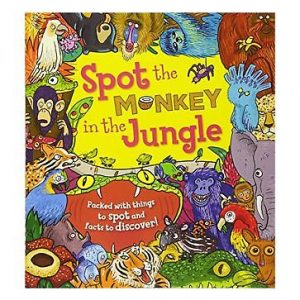 spot the monkey in the jungle inglés divertido