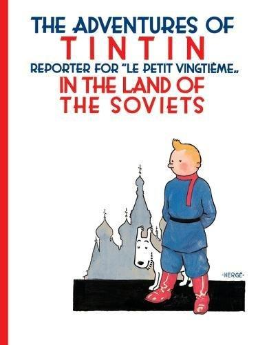 tintin in the land of the soviets inglés divertido