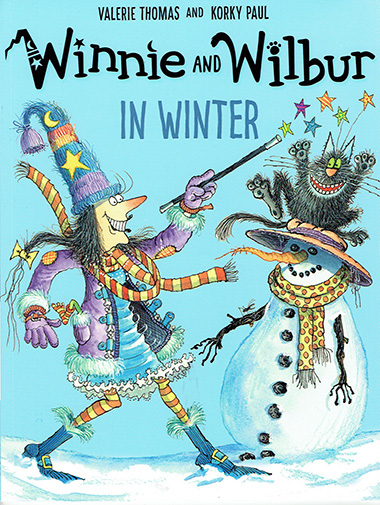 winnie and wilbur in winter inglés divertido