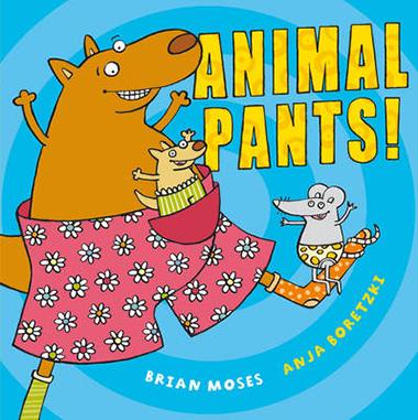 animal pants inglés divertido