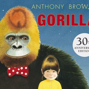 gorilla inglés divertido