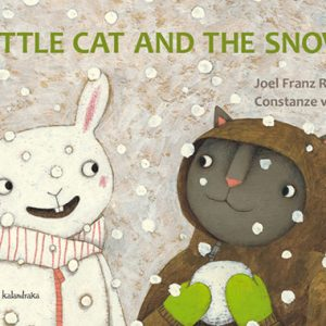 little cat and the snow inglés divertido