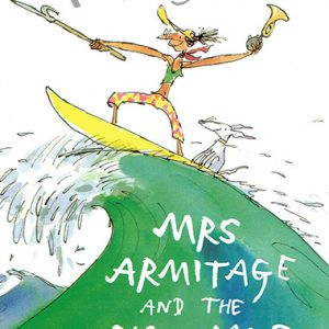 mrs armitage and the big wave inglés divertido