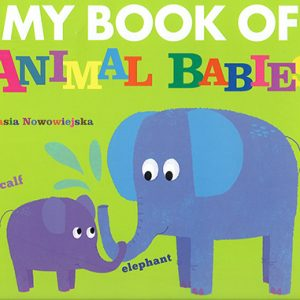 my book of animal babies inglés divertido
