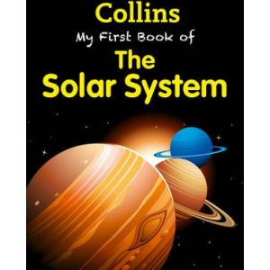 my first book of the solar system inglés divertido