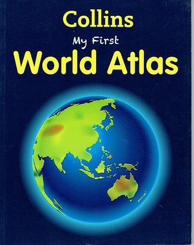 my first world atlas inglés divertido