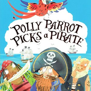 polly parrot picks a pirate inglés divertido