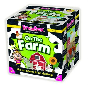 brainbox on the farm inglés divertido