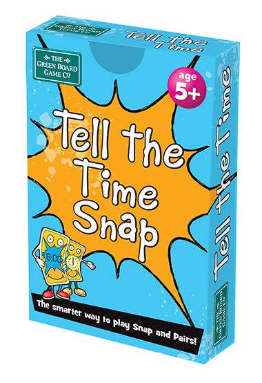 tell the time snap inglés divertido
