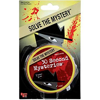 30 second mysteries inglés divertido