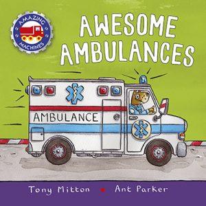 awesome ambulances inglés divertido