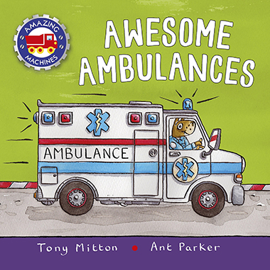 awesome ambulances inglés divertido