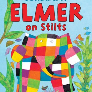 elmer on stilts inglés divertido