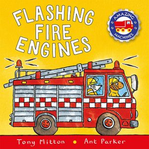 flashing fire engines inglés divertido