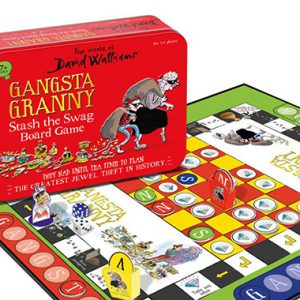 gangsta granny stash the swag board game inglés divertido