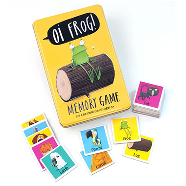 oi frog! memory game inglés divertido