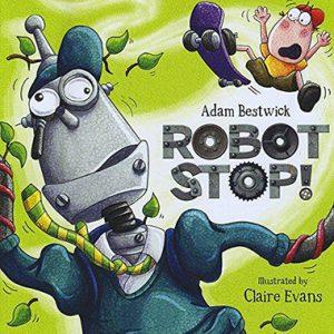 robot stop inglés divertido
