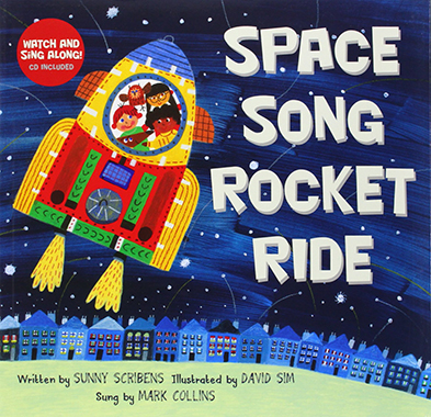 space song rocket ride inglés divertido