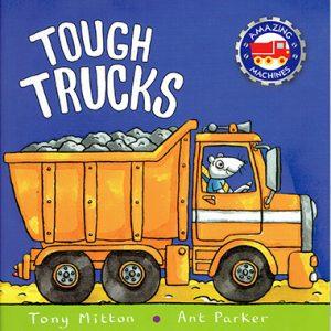 tough trucks inglés divertido
