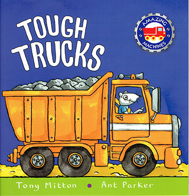 tough trucks inglés divertido