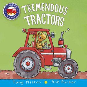 tremendous tractors inglés divertido