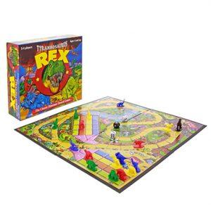 tyrannosaurus rex board game inglés divertido