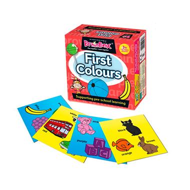 brainbox first colours inglés divertido