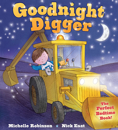 goodnight digger inglés divertido