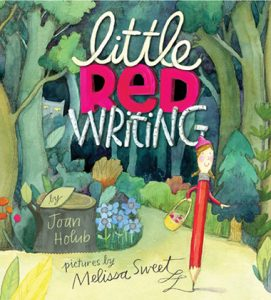little red writing inglés divertido