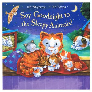say goodnight to the sleepy animals inglés divertido