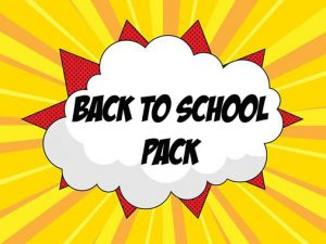 back to school pack ingles divertido