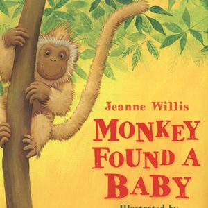 monkey-found-a-baby-ingles-divertido