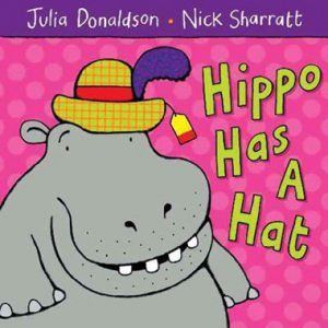 hippo-has-a-hat-ingles-divertido