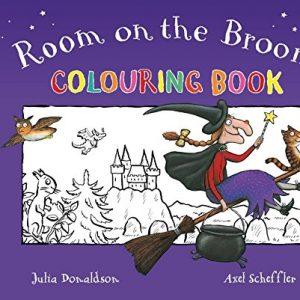 colouring-book-room-on-the-broom-ingles-divertido
