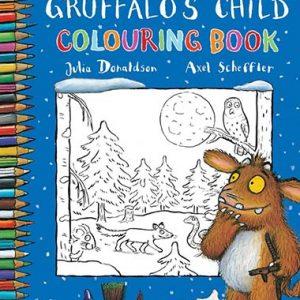 colouring-book-the-gruffalo's-child-ingles-divertido