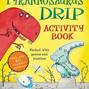 tyrannosaurus-drip-activity-book-ingles-divertido
