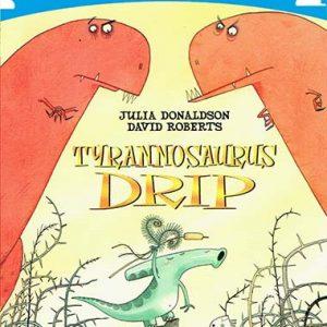 tyrannosaurus-drip-time-to-read-ingles-divertido